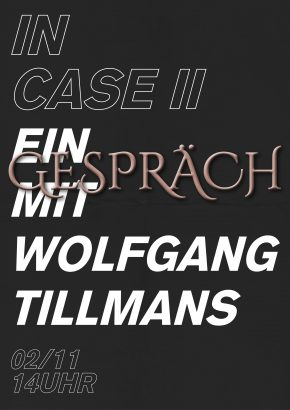 Ein Gespäch mit Wolfgang Tillmans
